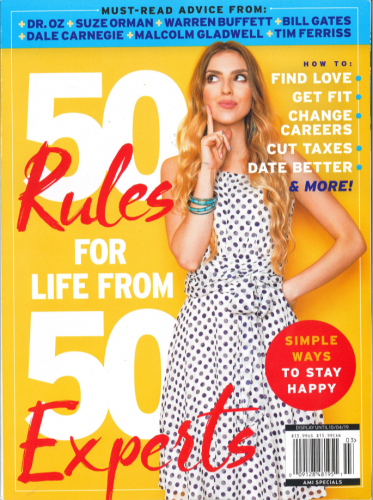 50 Rules for Life From 50 Experts