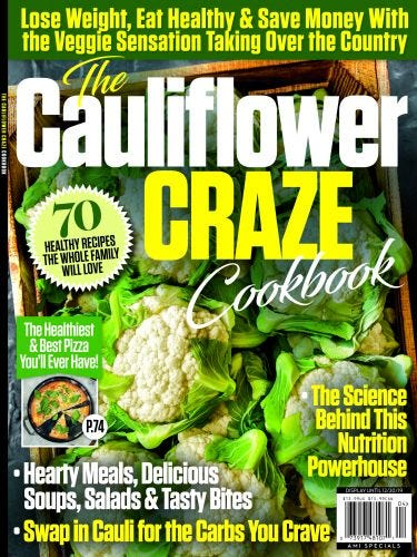 The Cauliflower Craze Cookbook