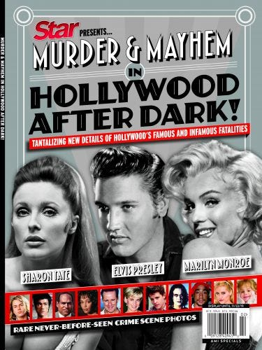 Murder & Mayhem in Hollywood After Dark!